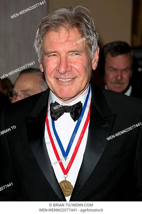 12th Annual Living Legends of Aviation Awards at The Beverly Hilton - Arrivals Featuring: Harrison Ford Where: Los Angeles, California