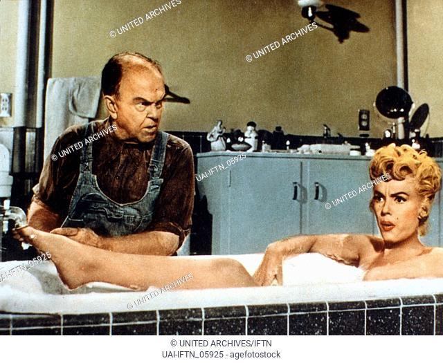 The Seven Year Itch, aka: Das verflixte siebte Jahr, Regie: Billy Wilder, Darsteller: Victor Moore, Marilyn Monroe