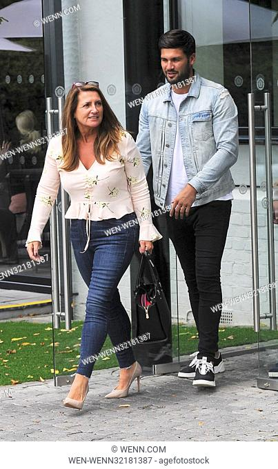 Dan Edgar and his mother Wendy, spotted filimg in Essex with James Diags Featuring: Dan Edgar, Wendy Edgar Where: London