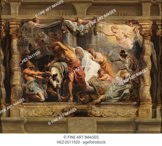 The Triumph of the Eucharist over Idolatry, 1625-1626. Artist: Rubens, Pieter Paul (1577-1640)