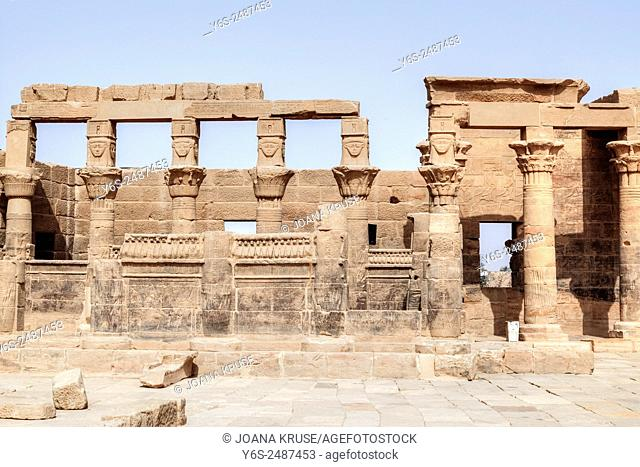 Temple of Philae, Agilkia Island, Nile, Aswan, Egypt, Africa