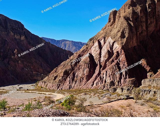 Argentina, Salta Province, Iruya, View of the surrounding mountains