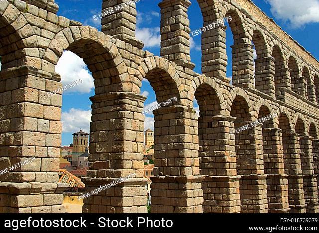 Segovia Aquädukt - Segovia Aqueduct 05