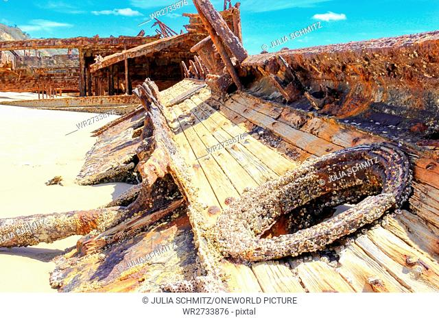 Maheno shipwreck Stock Photos and Images | age fotostock
