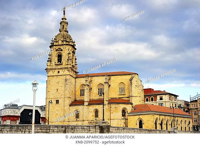 San Antonio Abad Church (43° 15†² 18†³ N, 2° 55†² 24†³ W) Bilbao, Biscay, Basque Country, Spain, Europe