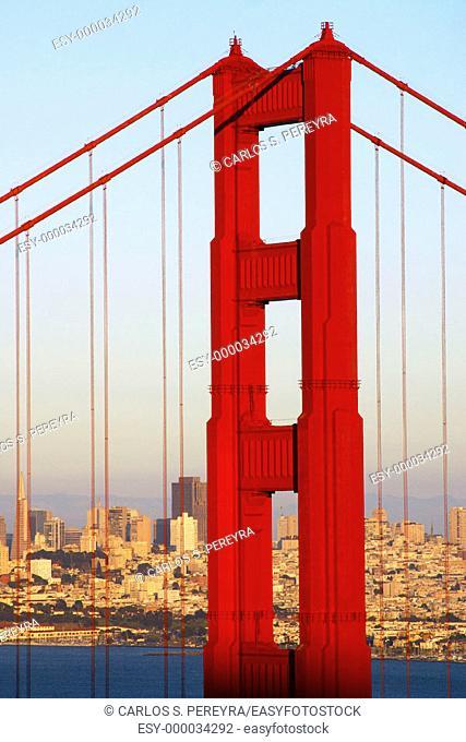 Golden Gate bridge. San Francisco. California, USA