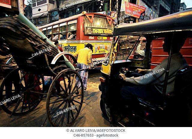 Street, Kolkata, India