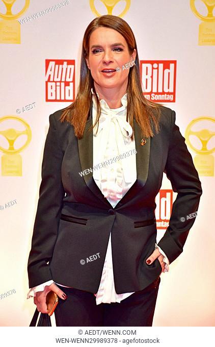 Das Goldene Lenkrad 2016 award at Axel Springer Haus in Mitte. Featuring: Katarina Witt Where: Berlin, Germany When: 08 Nov 2016 Credit: AEDT/WENN.com