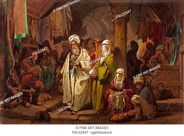 Istanbul genre painting Stock Photos and Images | age fotostock