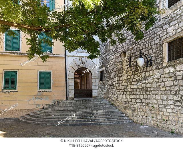 Old City Gate, Sibenik, Croatia