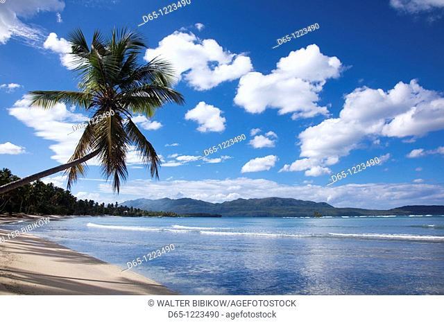 Dominican Republic, Samana Peninsula, Las Galeras, Playa Rincon beach