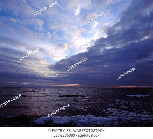 Poland. Baltic Sea
