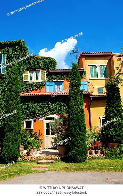Italy house style covered