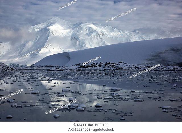 Mountains around Port Lockroy, Antarctic Peninsula; Antarctica