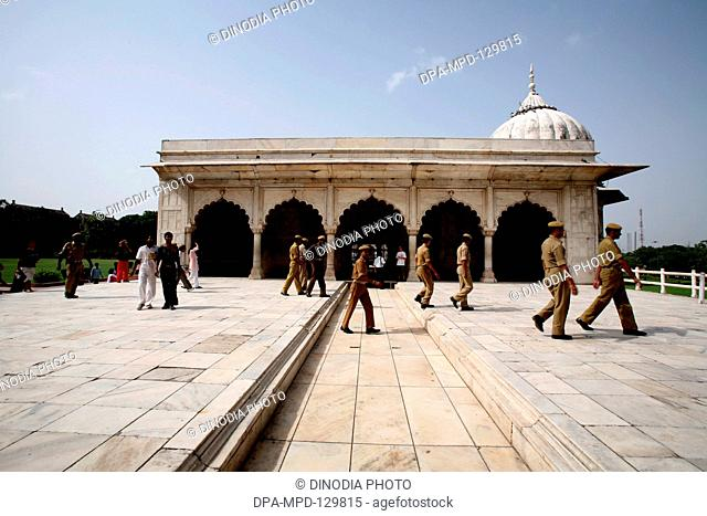Rang Mahal or the Palace of color also known as Imtiaz Mahal ; UNESCO World Heritage site the famous Delhi fort also known as Lal Qila  or Red Fort constructed...
