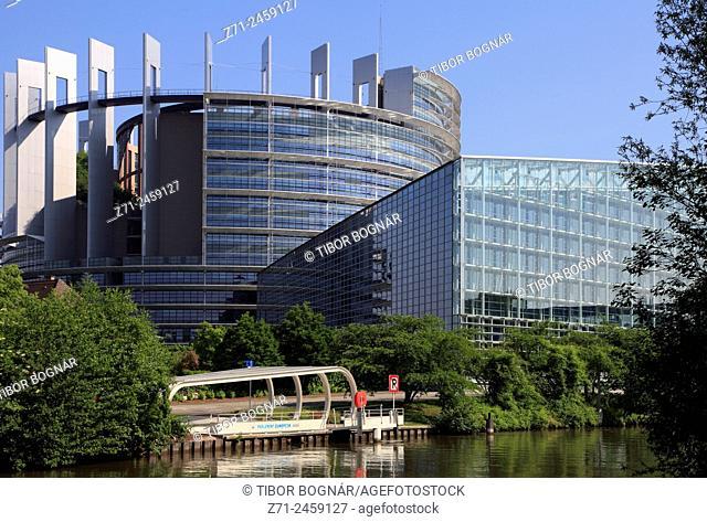 France, Alsace, Strasbourg, European Parliament