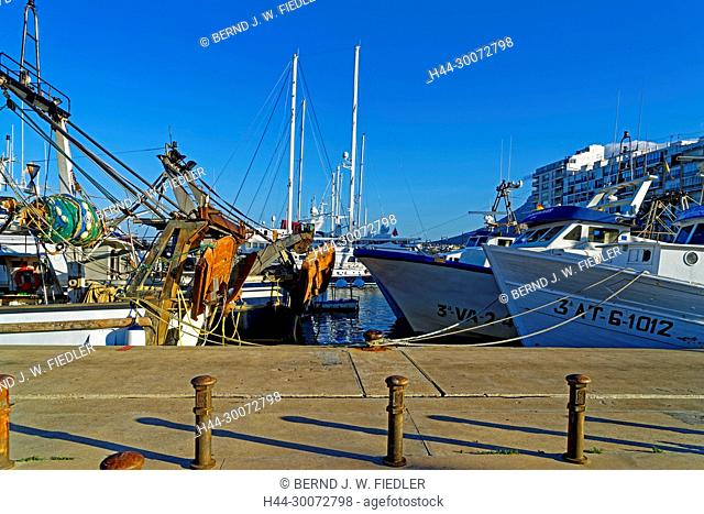 Fischereihafen, Fischerboote