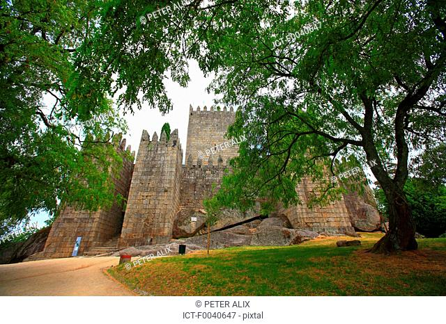 Portugal, Guimaraes, the castle