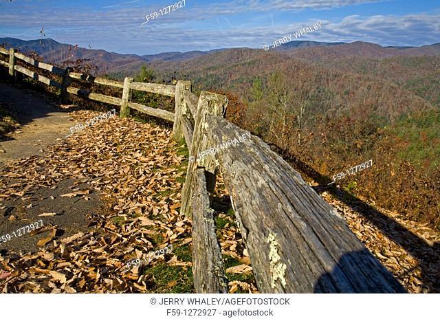 Wooden Fence, , Cataloochee Cove, Great Smoky Mtns NP, North Caroliina