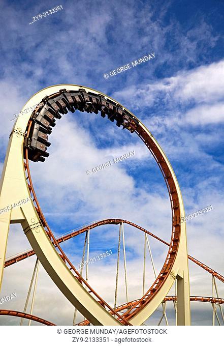 Big Dipper, Tramore Fun Fair, County Waterford, Ireland