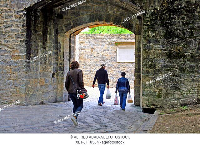 gate of the Ciudadela, Pamplona, Navarra, Spain
