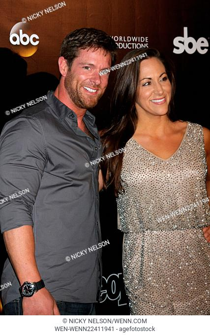 Dancing with the Stars 10 Year Anniversary Party Featuring: Noah Galloway, Jamie Boyd Where: West Hollywood, California, United States When: 22 Apr 2015 Credit:...