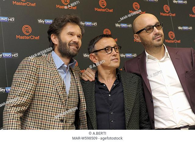 carlo cracco, bruno barbieri, joe bastianich