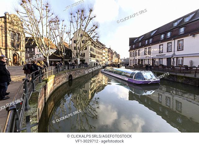 Petit France, Strasbourg district, Alsatian, Grand Est, Bas-Rhin, France