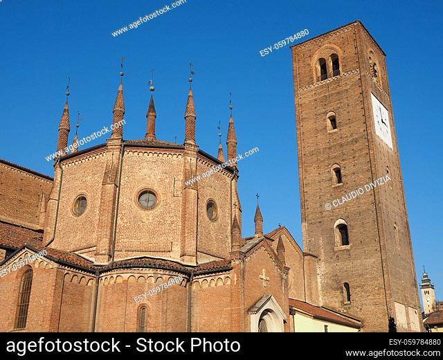 Chieri Cathedral aka Church Of Santa Maria della Scala or Duomo di Chieri