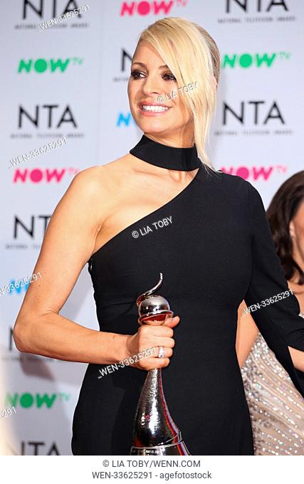 THE NATIONAL TV AWARDS 2018 (1/22/2018) - Newsworthy Images