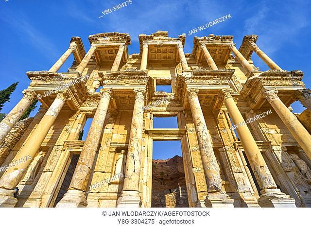 Library of Celsus in Ephesus Ancient City, Izmir, Turkey