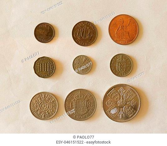 Half penny coin Stock Photos and Images | age fotostock