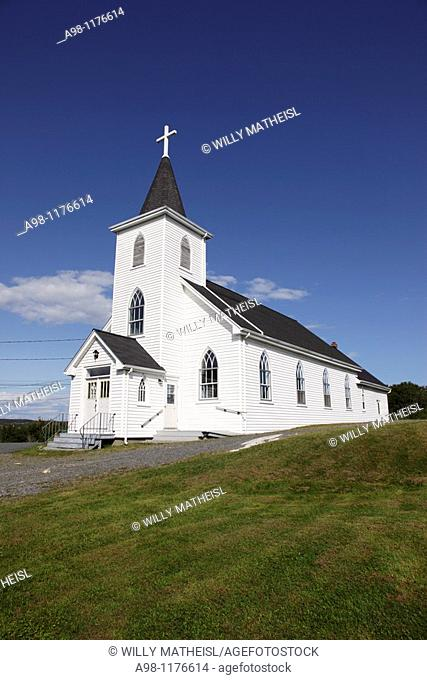 roman catholic church 'Our Lady Star of the Sea' at Terence Bay near Halifax, Nova Scotia, Canada, North America