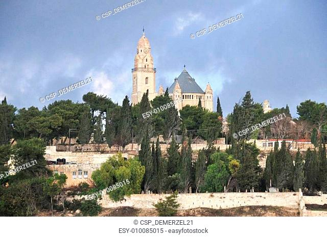 Mount Zion and the Abbey of the Dormition, Israel