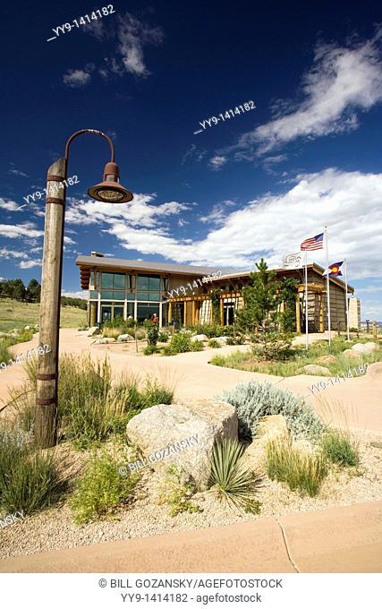 Visitor's Center - Cheyenne Mountain State Park, Colorado Springs, Colorado USA