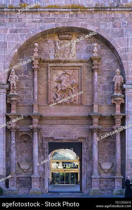 San Millan de Yuso Monastery, 11th century, San MIllan de la Cogolla municipality, La Rioja, Spain, Europe, Unesco World Heritage Site