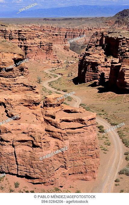 Charyn Canyon lanscape, Kazakhstan