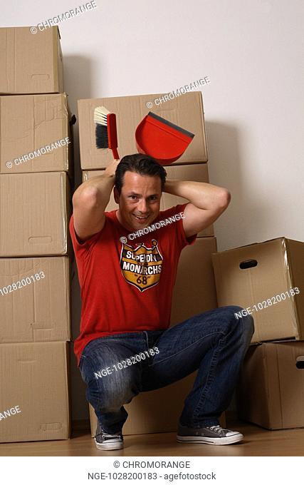 Man during Moving