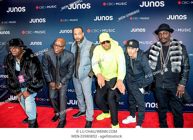 2018 JUNO Awards, held at the Rogers Arena in Vancouver, Canada. Featuring: Northern Touch Where: Vancouver, British Columbia
