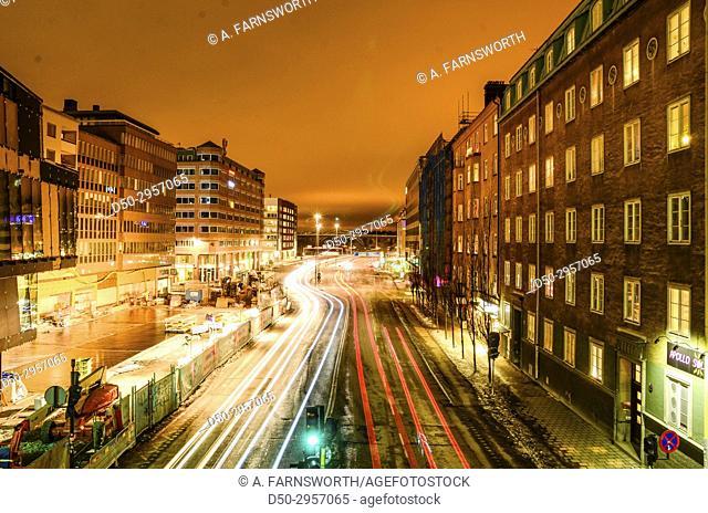 STOCKHOLM, SWEDEN Hornstull on Södermalm