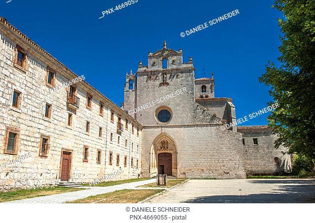 Spain, Autonomous community of Castile and Leon, province of Burgos, Monastery of San Pedro de Cardena, bell tower