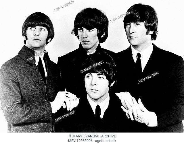 Paul Mccartney, Ringo Starr, George Harrison & John Lennon The Beatles 01 May 1964