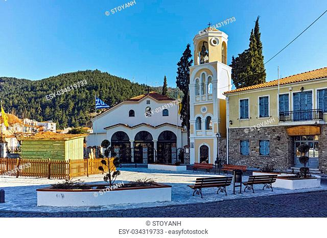 Church in old town of Xanthi, East Macedonia and Thrace, Greece