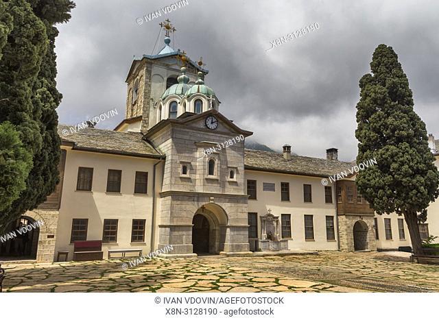 Kyriakon, main church (1866), Romanian Skete Prodromos, St John Baptist skete, Mount Athos, Athos peninsula, Greece