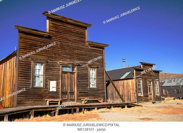 Bodie is a ghost town in the Bodie Hills east of the Sierra Nevada mountain range in Mono County, California, United States