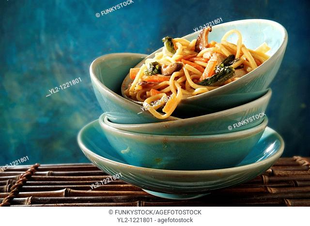 Chinese vegetable noodles