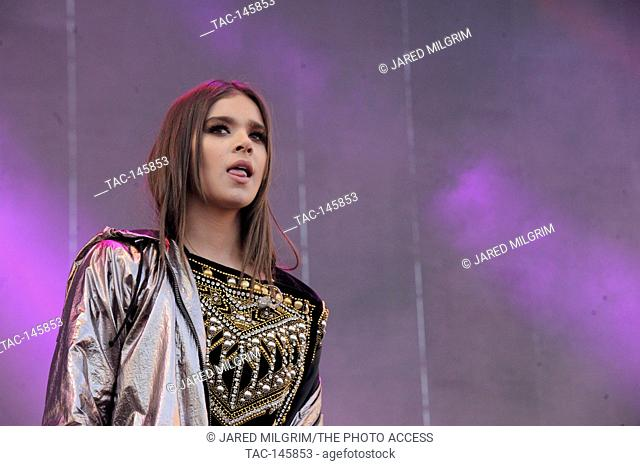 Hailee Steinfeld performing at the 2017 KIIS FM Wango Tango at the StubHub Center on May 13, 2017 in Carson, California