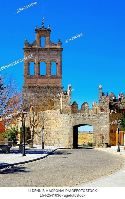 Belltower Avila Spain Castile-Léon Medieval
