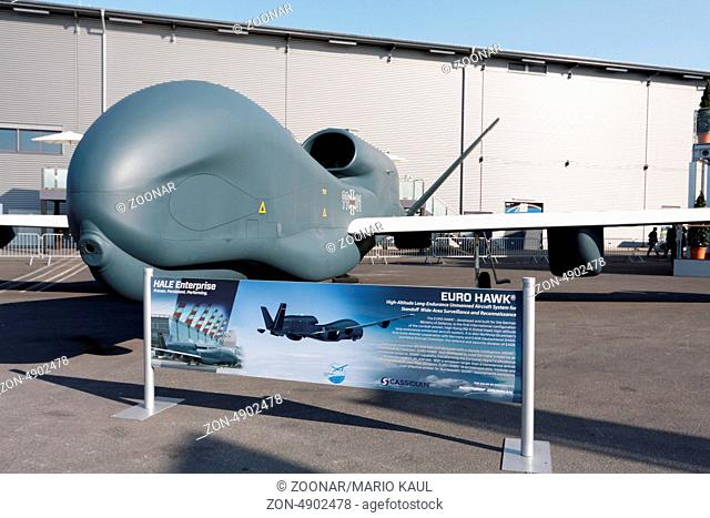 ILA Berlin Air Show 2012 - Drohne Euro Hawk