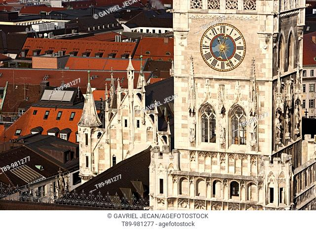 Germany, Bayern-Bavaria, Munich. New Town Hall